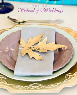 Autum Wedding Detail