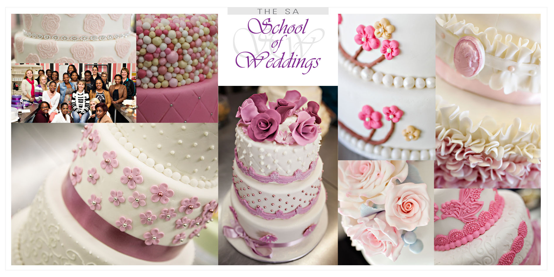 Wedding Cake Courses On Cake Baking Decorating Baking Classes Johannesburg