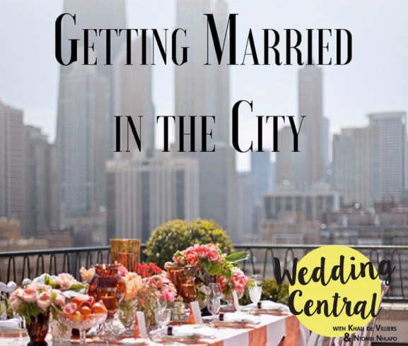 Getting married in the City